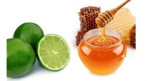 dưỡng da bằng mật ong và chanh